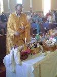 Basket blessing 2014
