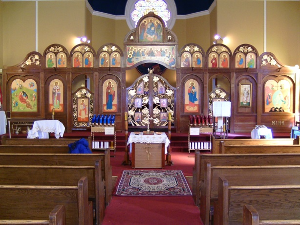 Our beautiful church interior